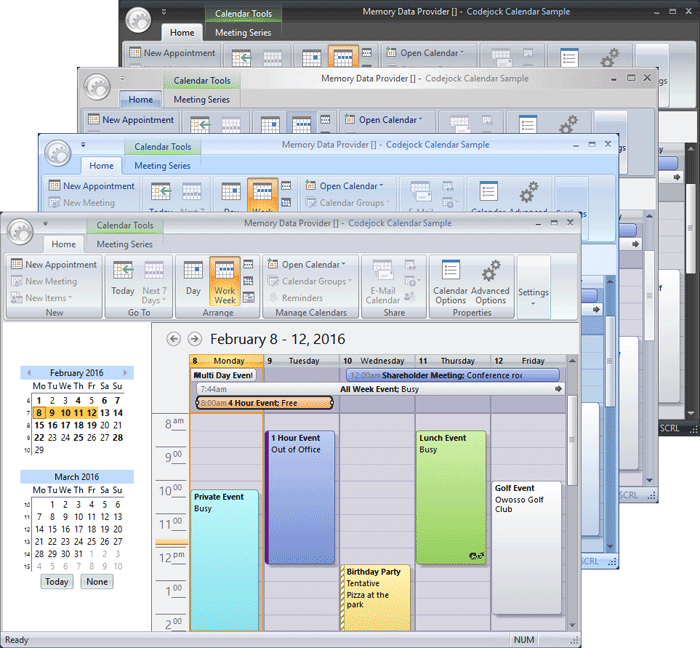 Office 2007 Theme Support