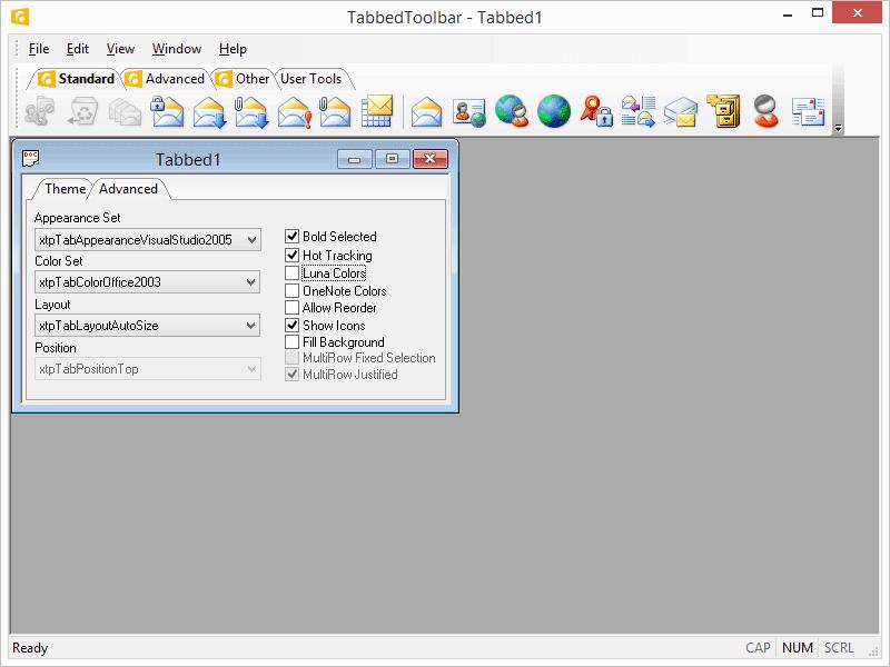 Command Bars Examples | Codejock