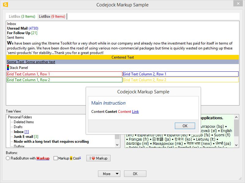 Toolkit Pro Examples   Codejock