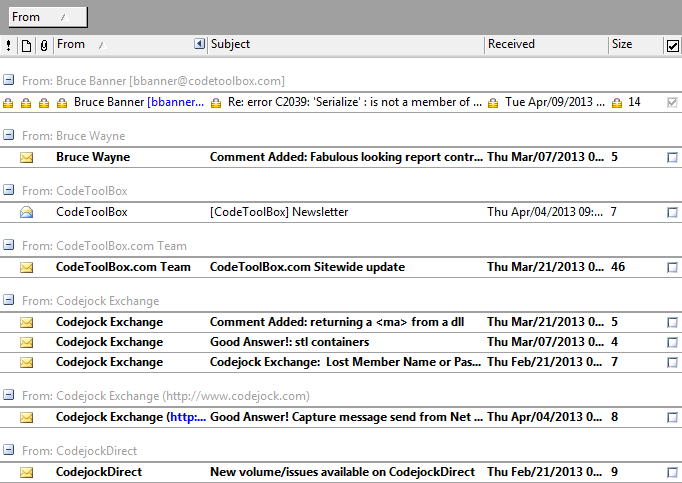 Office 2003 Theme Support